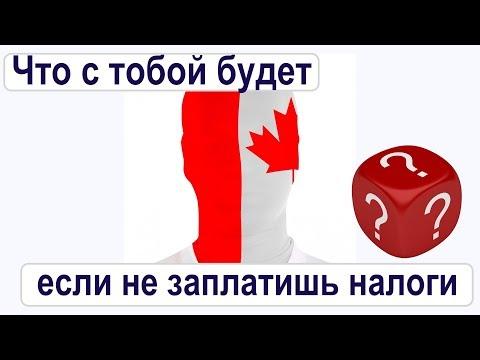 Что будет, если не заплатить налоги в Канаде