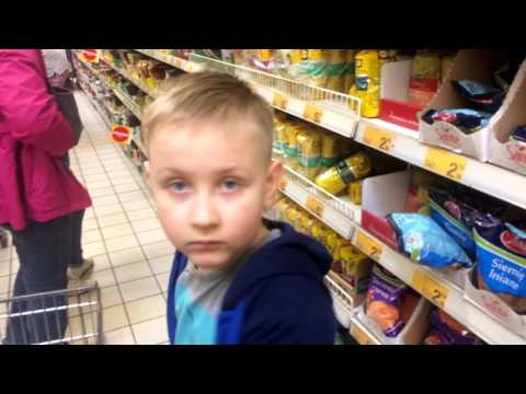 Сколько еды можно купить на 50 Евро в Польше. Большая закупка продуктов для семьи!